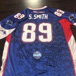 Steve Smith Pro Bowl Carolina Panthers jersey